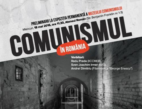 The Communism in Romania Exhibition opened on May 18 at the Romanian Athenaeum