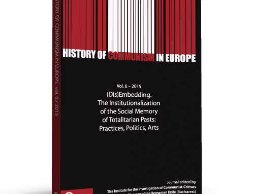 The sixth volume of History of Communism in Europe was released