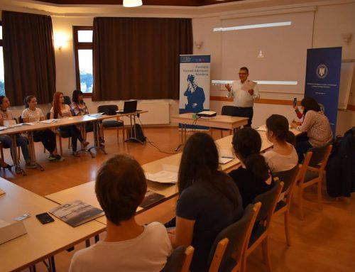 Şcoala de Vară de la Braşov – o experienţă unică pentru 17 liceeni