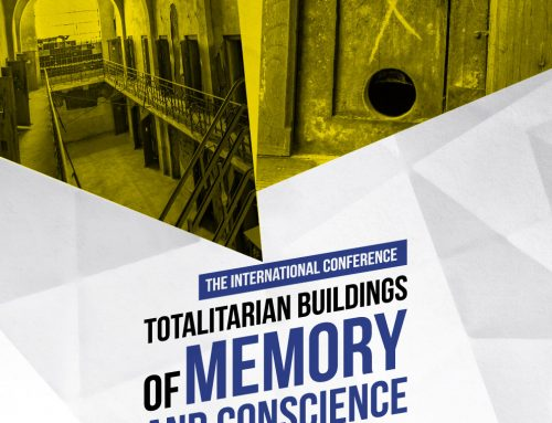 The International Conference Totalitarian Buildings of Memory and Conscience will take place on 20 August in Bucharest