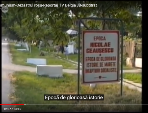 DUPĂ 30 DE ANI:  Documentarul Dezastrul roșu și Opération Villages Roumains