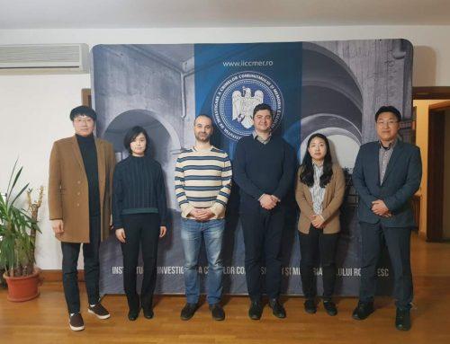 Cercetători de la Universitatea de Studii Nord Coreene din Seul în vizită la IICCMER