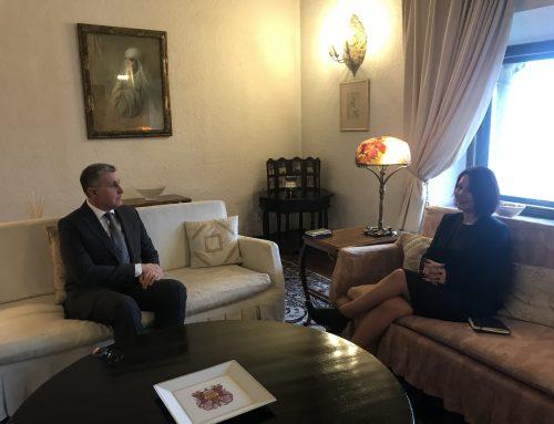 Întrevedere a Președintelui executiv al IICCMER, doamna Alexandra Toader, cu Alteța Sa Regală Principele Radu, Palatul Elisabeta, 20 februarie 2020