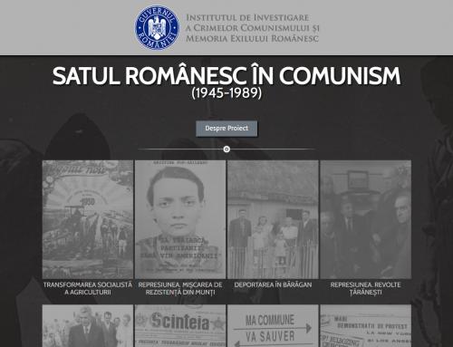 Satul românesc în comunism, subiectul unui nou site lansat de IICCMER